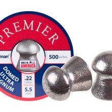 Crosman Premier Domed 14.3gr 500 count Buy 5 tins get the 6th free!