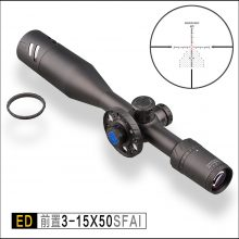 Discovery ED 3-15×50 FFP High End Rifle Scope