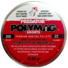 PREDATOR POLYMAG SHORTS .22 CAL, 15.89GR