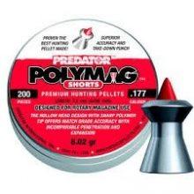 PREDATOR POLYMAG SHORTS .177 CAL, 8.02GR