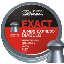 JSB MATCH DIABOLO EXACT JUMBO EXPRESS .22 CAL Buy 5 tins get the 6th free!