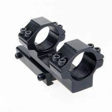 Offset Rifle Scope Mounts 25.4mm/30mm Dovetail 11mm Rail