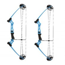 Junxing Youth Compound Bow RH Adjustable 10-20lb -Super Sale Bundle! Free Arrows and Targets!