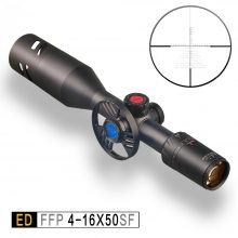 Discovery ED 4-16×50 SF  FFP Rifle Scope Extremely Low Chromatic Dispersion!