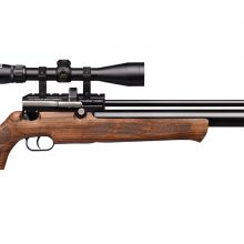 Kral Puncher Mega Walnut Sidelever PCP Air Rifle .22 Cal 14 shot Shipping Included! In stock soon!
