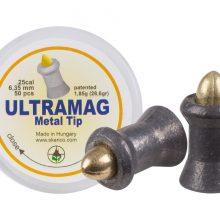 Skenco UltraMag Metal Tip, .25 Cal, 28.60 Grains, Pointed, 50ct