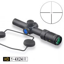 DISCOVERY HD 1-4X24 IR Long Eye Relief Rifle Scope Illuminated Reticle
