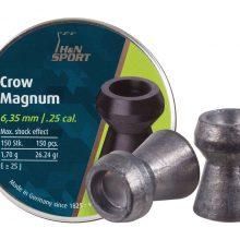 H&N Crow Magnum .25 Cal, 26.23 Grains, Hollowpoint, 150ct by Haendler & Natermann