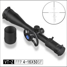 Discovery VT-Z 4-16x50SF FFP 30mm Rifle Scope with Large Side wheel